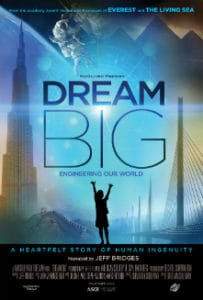 Dream Big IMAX film poster