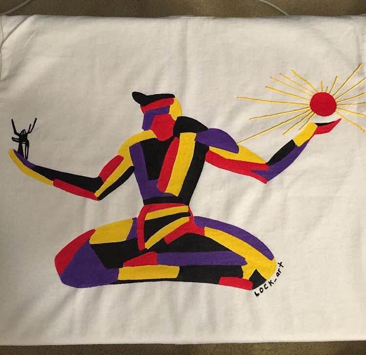 Lock Art Spirit of Detroit Shirt