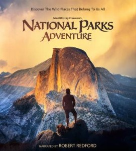 Poster for the National Parks Adventure IMAX film