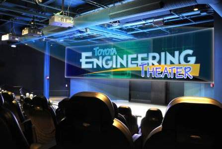 Toyota 4D Engineering Theater