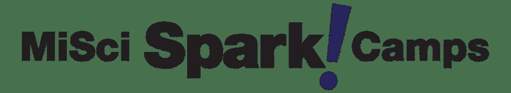 sparkcamp logo black purple