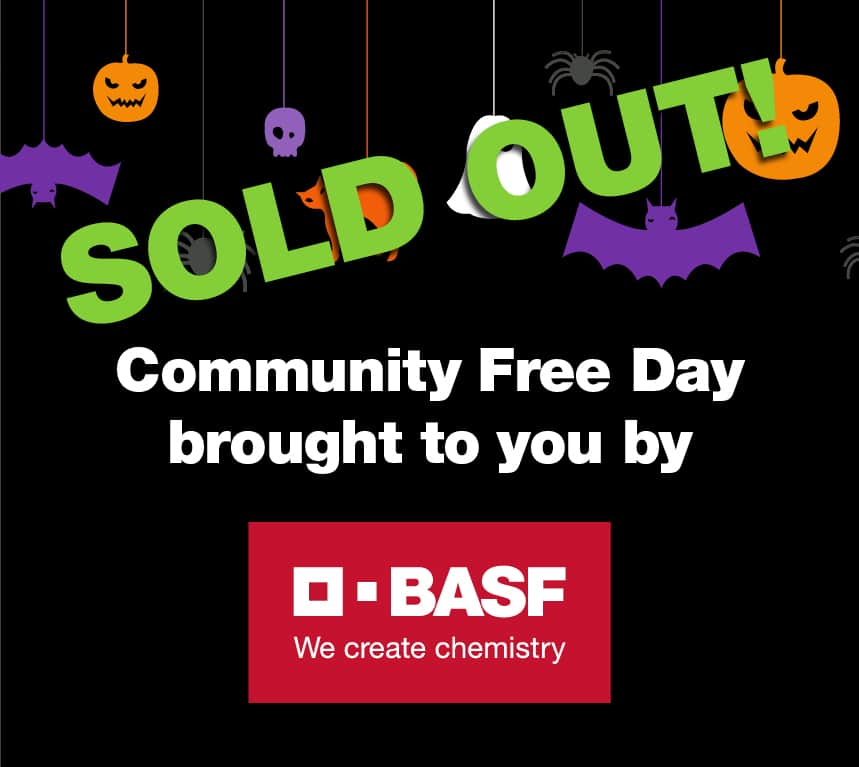 basf community free day thumbnail sold out